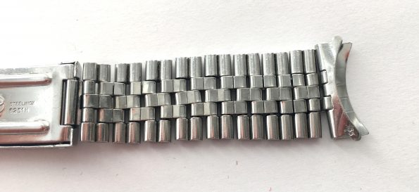 Original Rolex Datejust Jubilee Steel Strap 1969 55 6251H 20mm