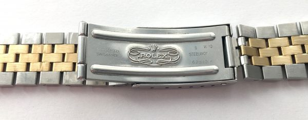 Original Rolex Jubilee Datejust Steel Gold Strap S Series 62510 H 455 from 1994