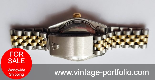 Perfect Rolex Oyster 30mm Steel Gold Ladies Lady 6748