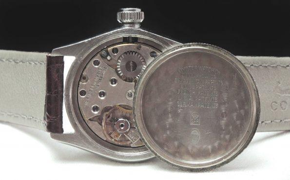 Rare Rolex Steel Oyster Bubble Back Vintage Art Deco