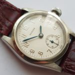 Rare Rolex Steel Oyster Bubble Back Vintage Art Deco