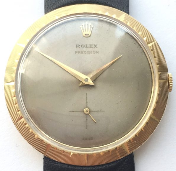 Historically Relevant Art Deco Rolex Precision 18ct solid gold