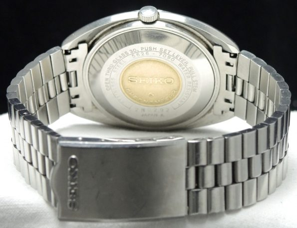 Seiko Hi-Beat Automatic with amazing dial and steel strap