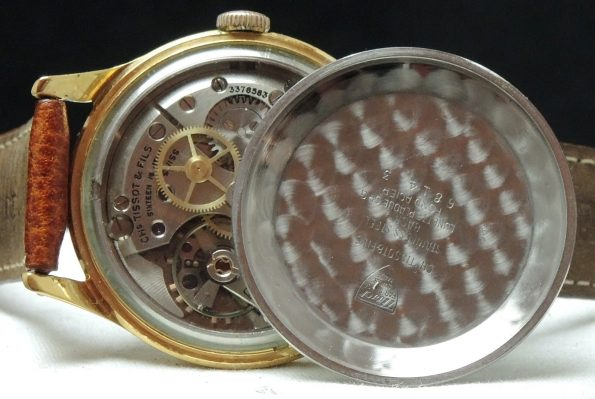 Gold Plated Tissot Camping Vintage Explorer Dial