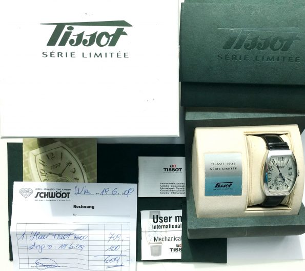 Tissot Porto 1925 z190 Tonneau Uhr Limited Edition Full Set