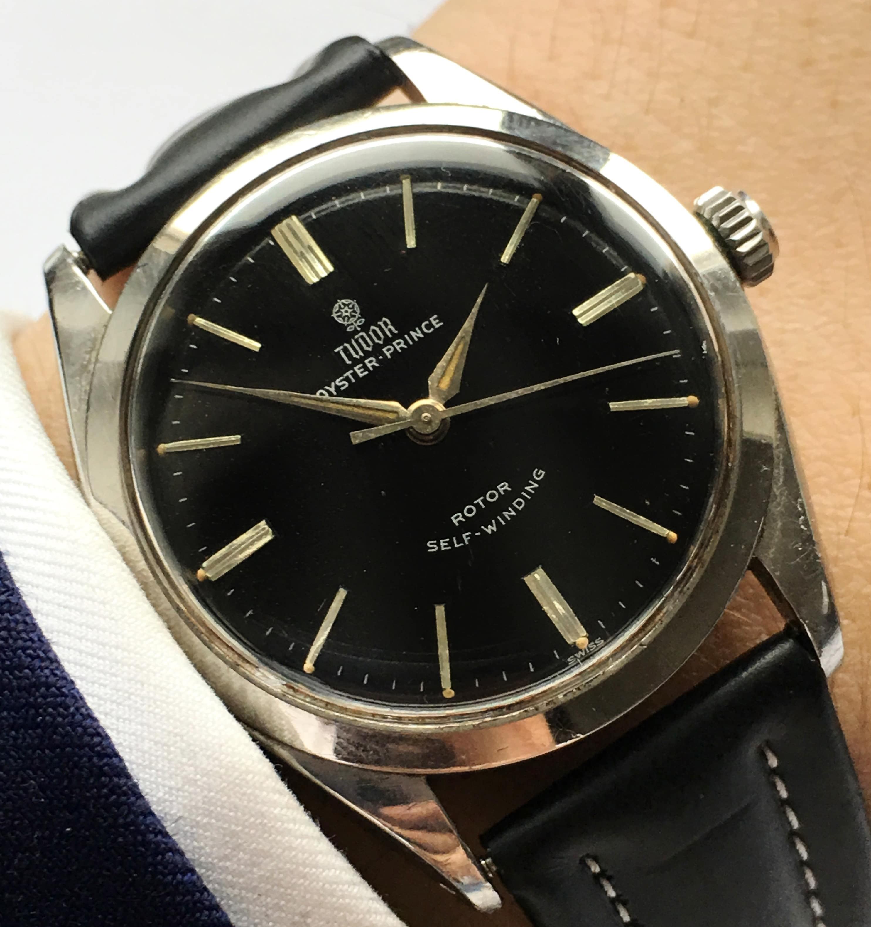 perfect tudor oyster price automatic vintage small rose vintage