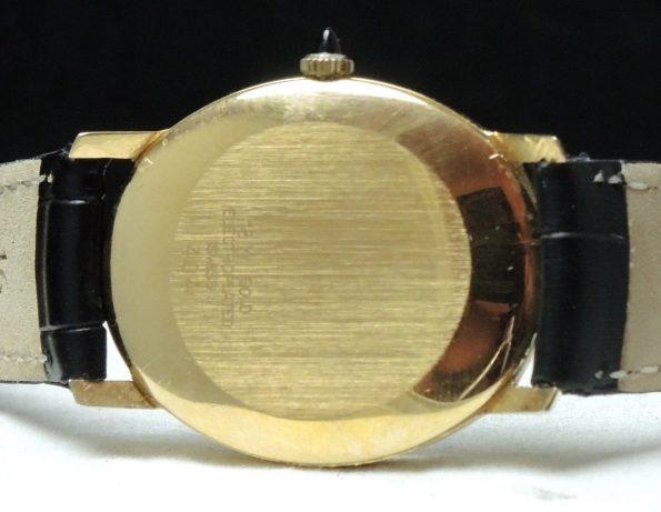 Gold Plated Ulysse Nardin Ladies Damen Vintage Roman Numerals