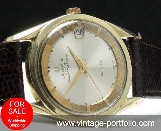 Universal Geneve Polerouter Automatic Vintage