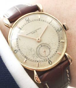 Ladies Vacheron Constantin in Solid Gold with Teardrop Case