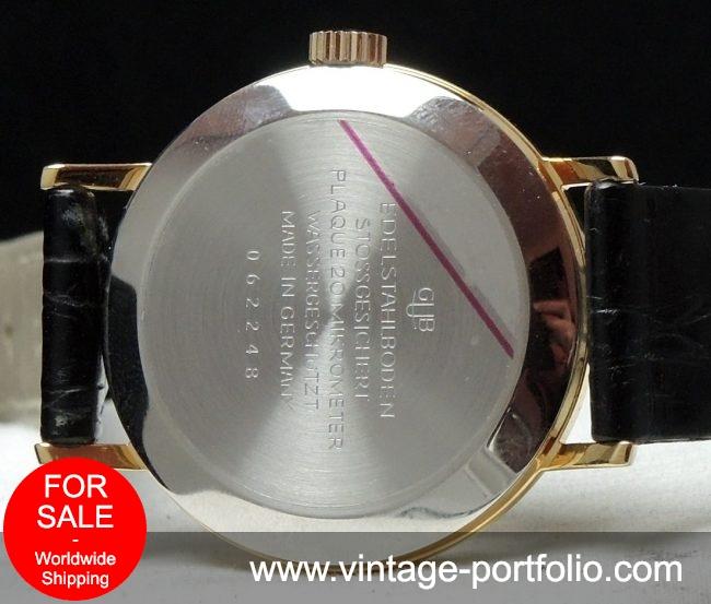 36mm Vintage Glashütte Date