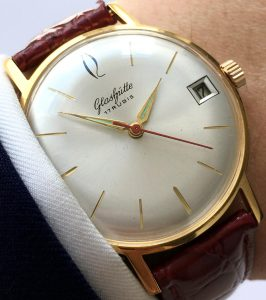 Serviced Vintage Glashütte Date 36mm