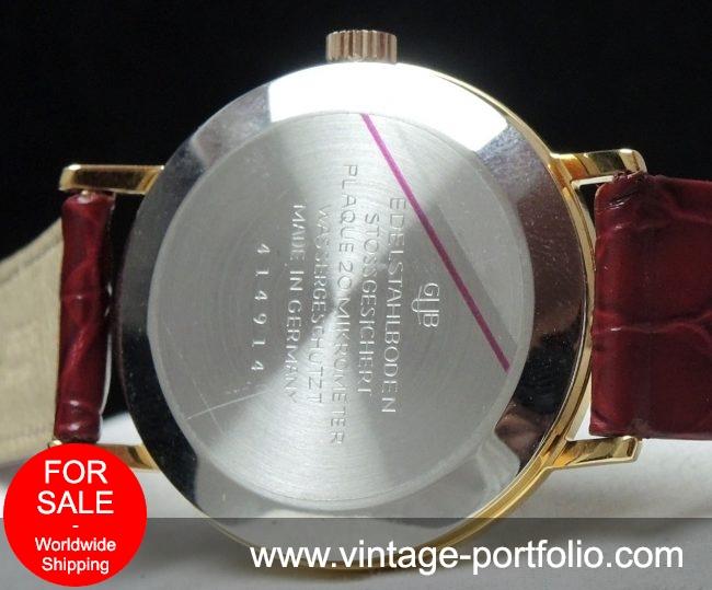 Serviced Vintage Glashütte Date 36mm