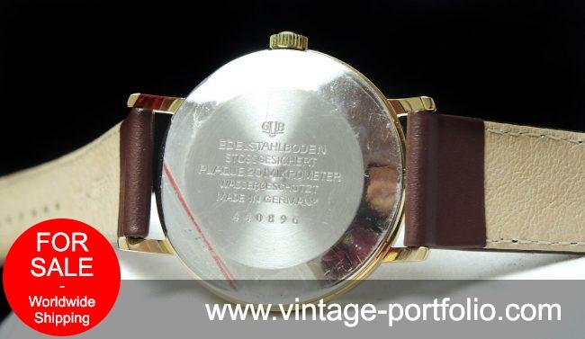 Restored 36mm Vintage Glashütte