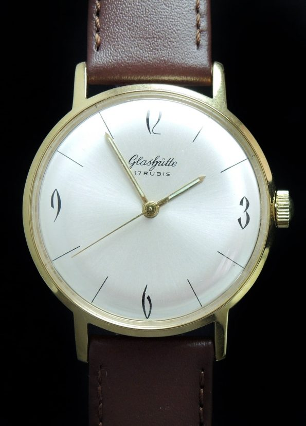 Restored 36mm Vintage Glashütte