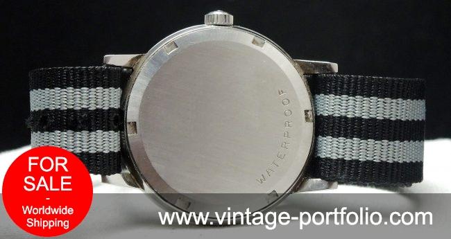 Perfect Vintage Omega Geneve Steel Onyx Indices