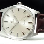 Perfect Vintage Omega Geneve Steel Onyx Indices
