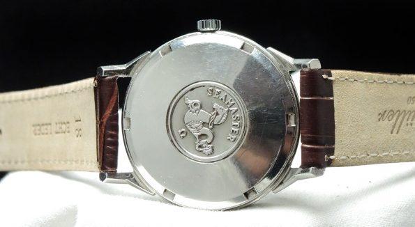 Vintage  Omega Seamaster Automatic Automatik black dial steel
