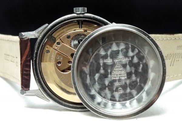 Omega Seamaster Automatic Automatik black dial steel