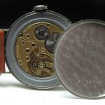 Vintage Zentih with amazing black grey two tone gilt dial