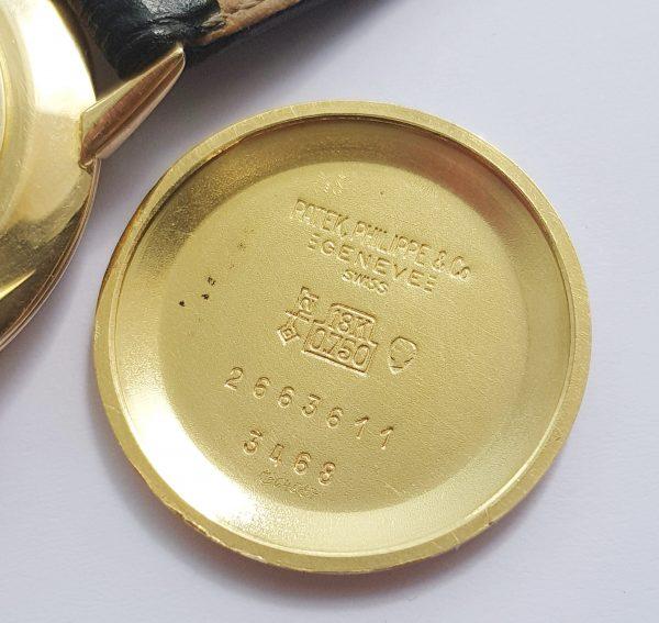 18ct Yellow Gold Patek Philippe Ellipse Vintage 27mm