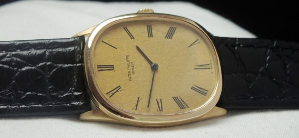 18ct Yellow Gold Patek Philippe Ellipse Vintage 27mm