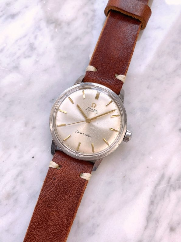 Serviced Omega Seamaster Automatic Vintage Steel No Date 165002