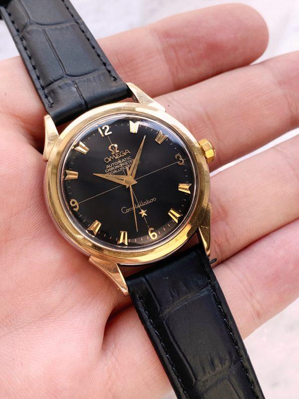 Omega Constellation Automatic Vintage Black Restored Explorer Dial 2652 Bumper