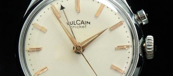 Great Vulcain Cricket Vintage Top Condtion