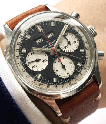 Servicierter Wakmann Vintage Chronograph Triple Date