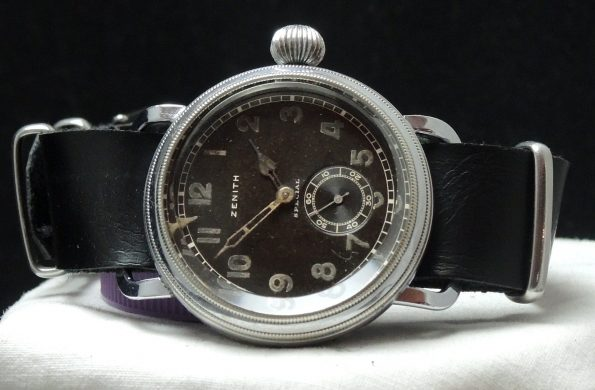 42mm Vintage Zenith Pilots Military World War ww2 wk2 watch