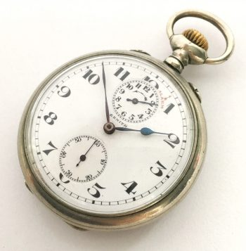 Rare Zenith Pocket Watch with Alarm