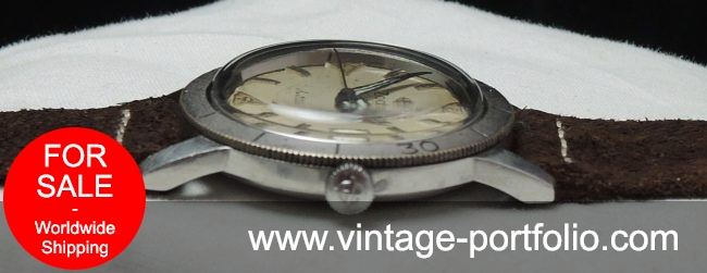 Zodiac Seawolf Automatic with rotating bezel Vintage