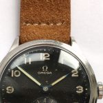 Beautiful Military Style Omega 30T2 Gilt Dial