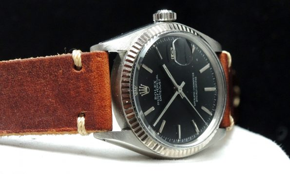 Serviced Rolex Datejust Automatic Automatik  with black dial