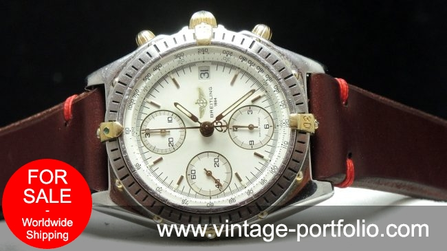 Breitling Chronomat with white dial