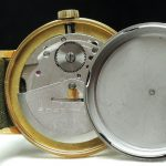 Perfect Glashütte Vintage Watch with black dial automatic