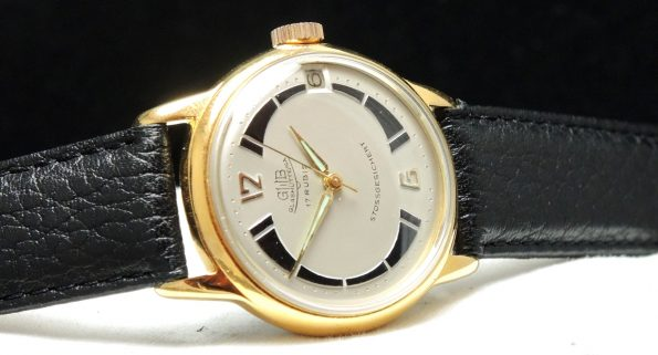 Serviced Glashütte Vintage  watch with structured dial