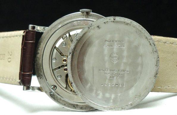 36mm IWC Stahl Uhr Vintage Steel