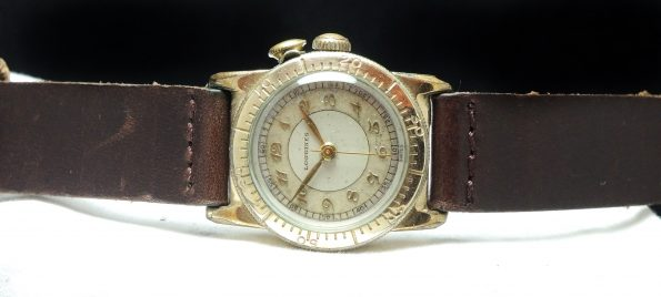 Rare Longines Weems Military Watch with Breguet Numbers