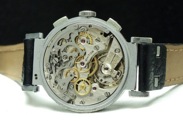 Big Ghitor Vintage Chronograph with Two Tone dial