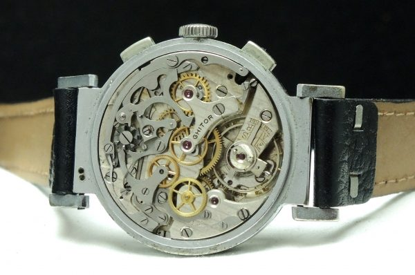 Grosser Ghitor Vintage Chronograph mit Two Tone ZB
