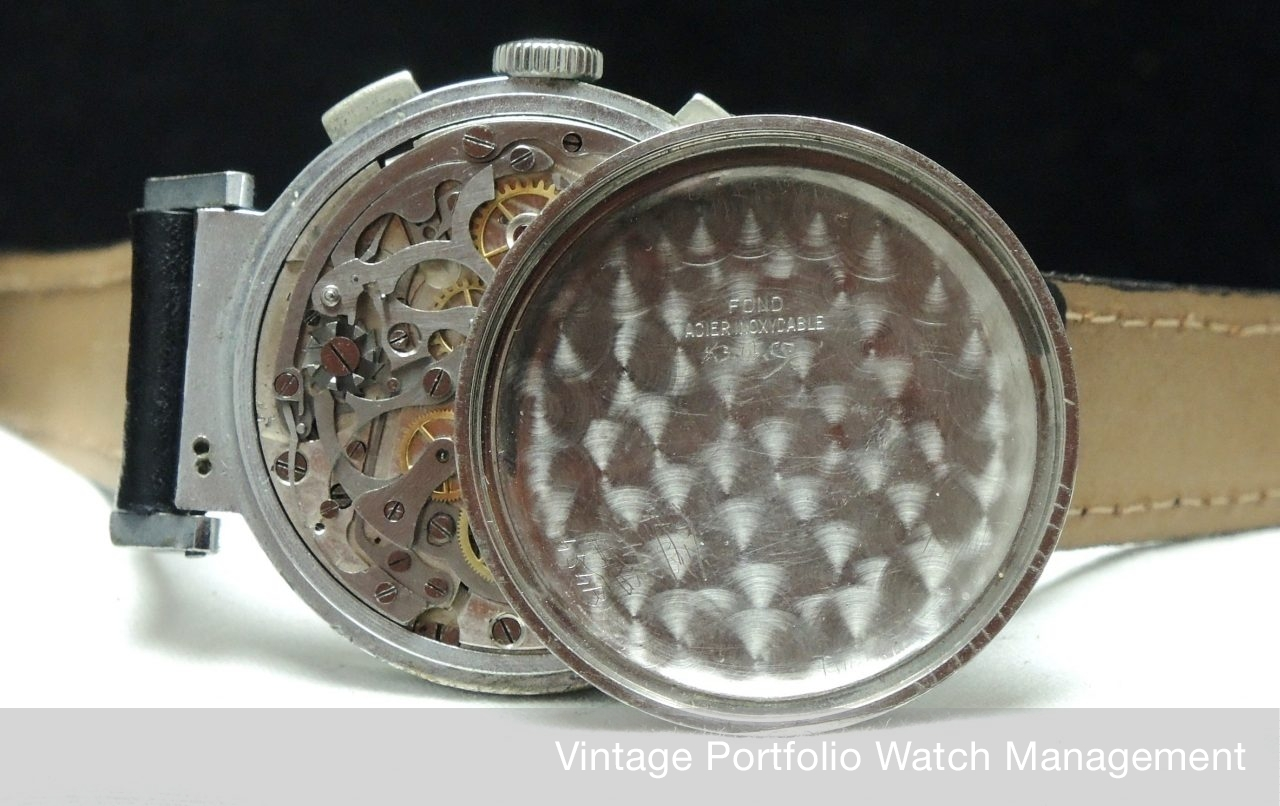 Zb Mit Tone Two Vintage Chronograph Ghitor Grosser qR3A4L5j