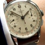 Junghans Vintage Chronograph with Two Tone dial