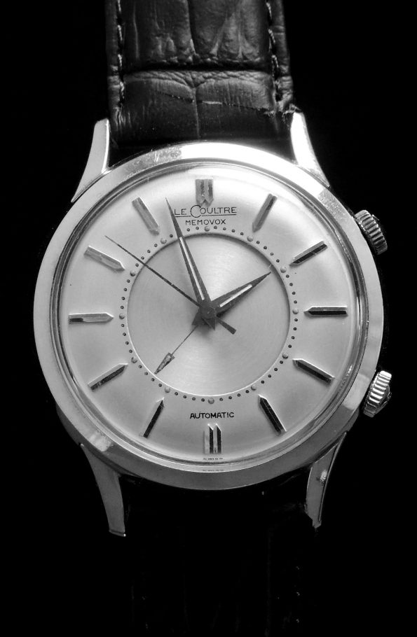 Jaeger LeCoultre Memovox 38mm with JLC Service Papers and Box