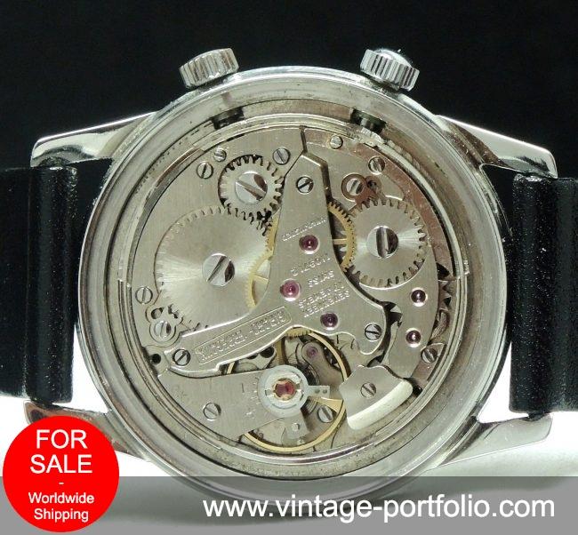 Girard Perregaux Wrist Alarm Memovox Steel