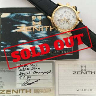 Zenith el Primero Triple Date Moonphase 40mm with Papers