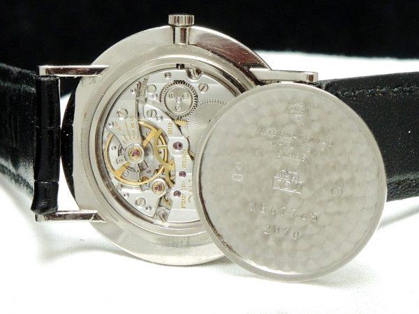 Amazing IWC Portofino Watch in Solid White Gold Ultra Thin
