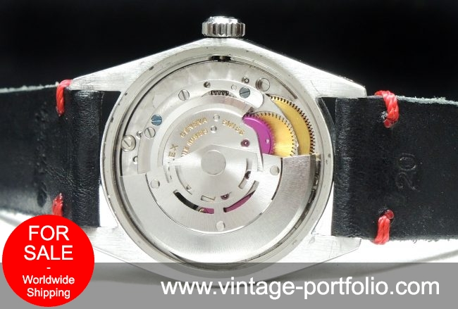 Serviced Rolex Air King Date Automatic Automatik with black dial