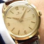 Vintage Zenith 18ct solid gold with Explorer Dial