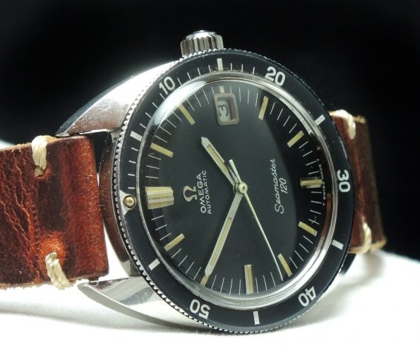 Perfect Omega Seamaster 120 Automatik Automatic Vintage 37mm Date